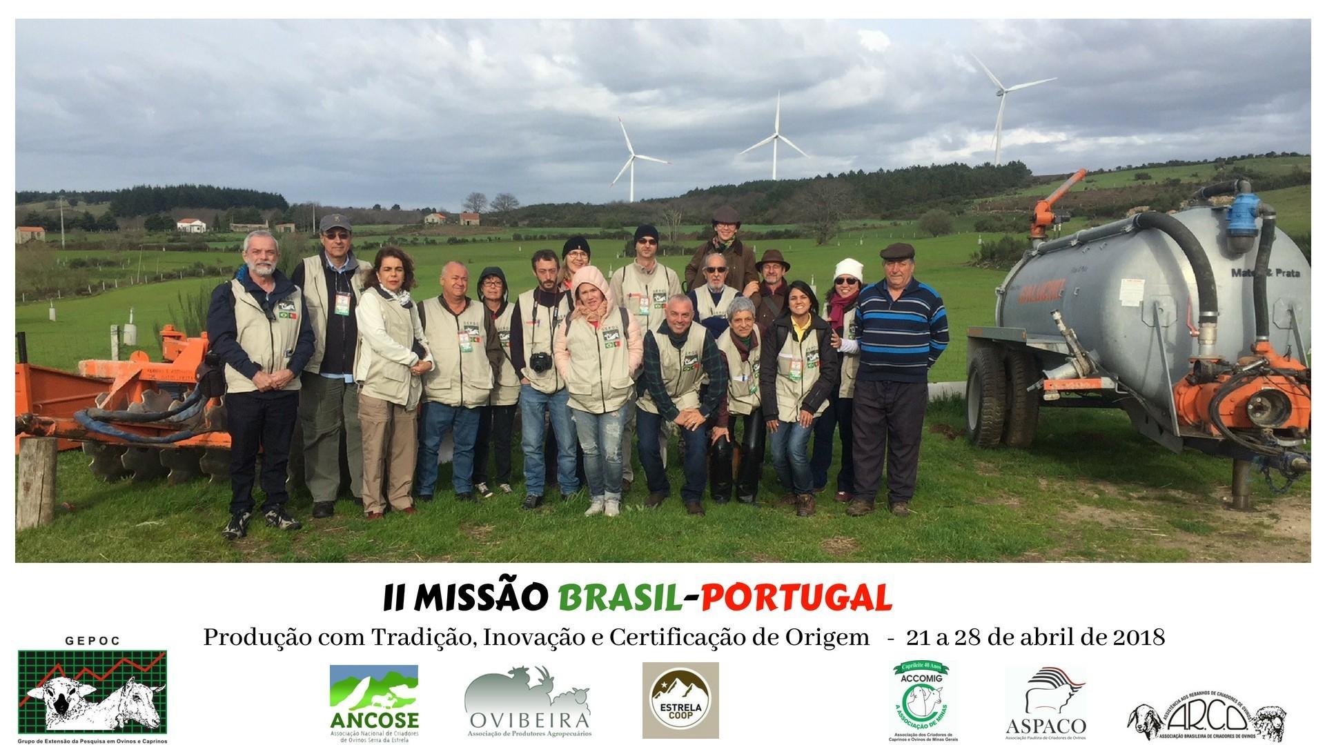 II MISSÃO BRASIL PORTUGAL 2018 21 a 28