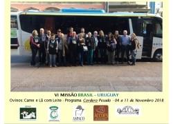 VI MISSÃO BRASIL - URUGUAI TERMINA EM CLIMA DE COMEMORAÇÃO