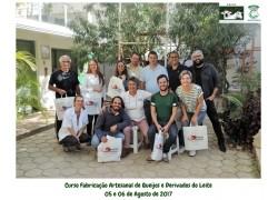 CURSO DE FABRICAÇÃO ARTESANAL DE QUEIJOS E DERIVADOS DO LEITE 05 E 06/082017