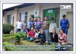 CURSO DE INICIAÇÃO A CAPRINOCULTURA E OVINOCULTURA TIPO LEITE CORTE E MISTA 20 E 21/05/17