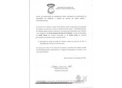 4 Edital de Convocação  Assembléia Geral Ordinária
