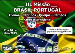 III MISSÃO BRASIL - PORTUGAL 11 a 18 DE MAIO DE 2019 PARTICIPE!