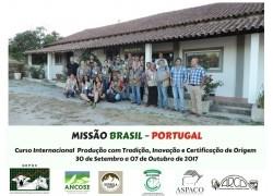I MISSÃO BRASIL PORTUGAL 30/09 a 07/10/2017