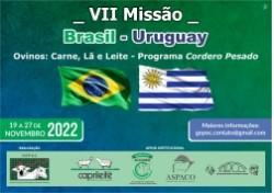 VII MISSÃO BRASIL – URUGUAY  19 a 27/11/2022