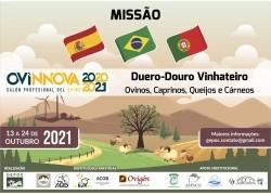 MISSÃO BRASIL-ESPANHA-PORTUGAL Ovinos, Caprinos, Queijos e Cárneos com Feira OVINNOVA Espanha  13 a 24/10/2021